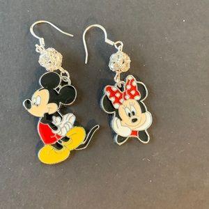Mickey & Minnie Disney Earrings Handmade